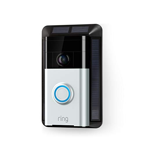 🥇 Solar Charger for Ring Video Doorbell