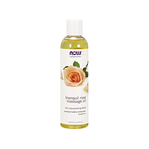 Now Foods Tranquil Massage Oil, Rose, 8 Fluid ()