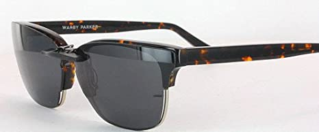 3cec9b3407 WARBY PARKER AMES-3200-54X18 POLARIZED CLIP-ON SUNGLASSES (Frame NOT  Included)  Amazon.co.uk  Health   Personal Care