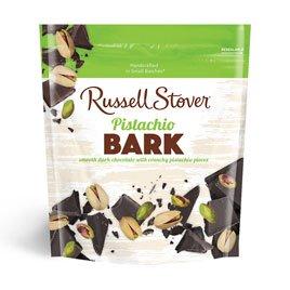 Russell Stover Dark Chocolate Pistachio Bark, 5 oz. Bag