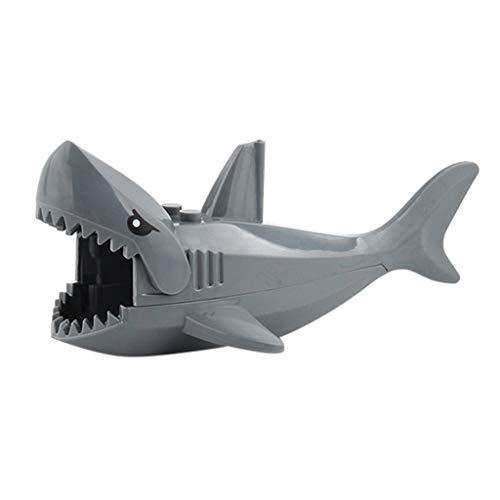 (MOGOV Animal Shark Lot Friends Ocean Sea Outdoor City Parts Bulk Building)