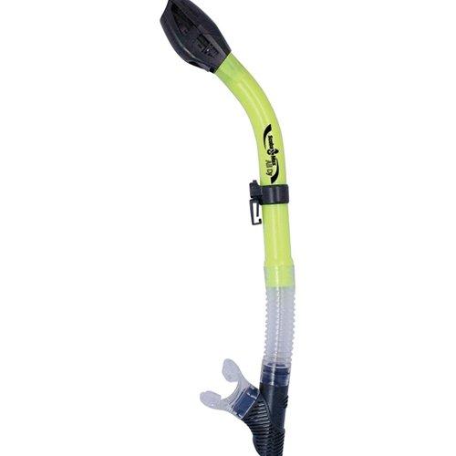 scuba-max-centrino-dry-flex-snorkel-neon-yellow