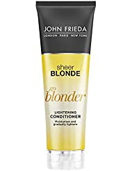 John Frieda Sheer Blonde Go Blonder Lightening Conditioner, 8.3 Ounces