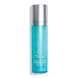 TULA Probiotic Skin Care Pro-Glycolic 10% pH Resurfacing Gel Toner | Face Toner to Gently Exfoliate and Hydrate Skin, with Proprietary Blend of Probiotics and Glycolic Acid | 2.7 oz