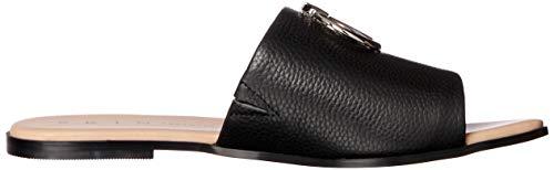 41 Black EU Women��s 11 AU Black Skin Zenia Fashion Sandals pn1fqwWIx8