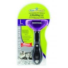 herramienta deshedding ESPECTRO FURminator - 1 paquete de Gran Gato de pelo largo LGE: Amazon.es: Jardín