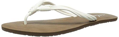 Volcom Women's Have Fun Dress Sandal, White, 6 M US