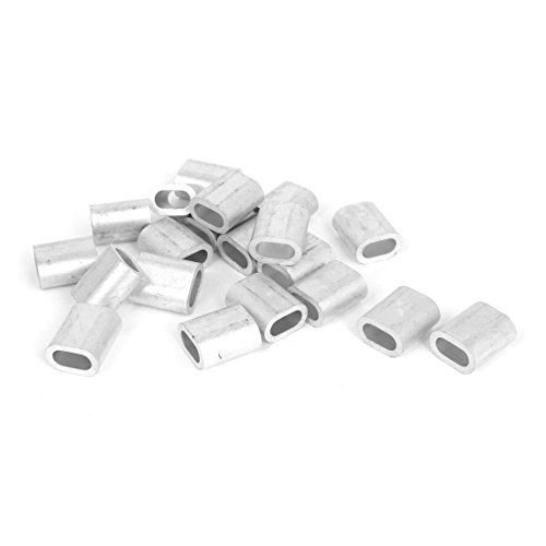 4 inch Aluminum Sleeves Fittings Crimps
