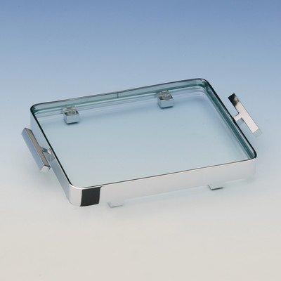 Windisch Crystal - Windisch 51417-SNI-637509821579 Trays Collection Bathroom Tray, Satin Nickel