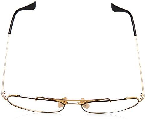 Ray-Ban rx6389 55 2946 le général lunettes en or noir RX6389 2946 55 Clear Black Gold