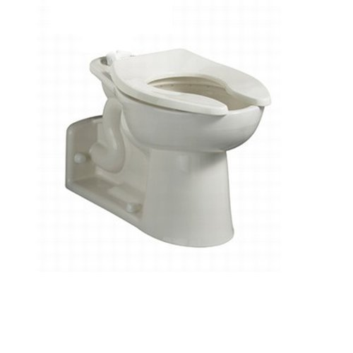 American Standard 3697.001.020 Priolo Right Height Elongated Back Spud Toilet Bowl Only, White
