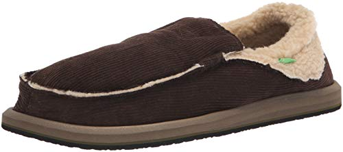 Sanuk Men's Chill Marron Slip Foncé Chiba on Loafer UUqdr