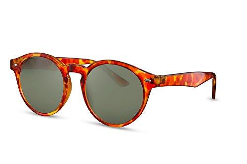 Femmes Hommes Rouge Cheapass Sunglasses Brun Miroitant Noir Ca Lunettes 015 Rétro Rondes Connaisseur 8Zqw8