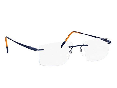 Silhouette Eyeglasses RACING COLLECTION (san marino blue /orange, one color)