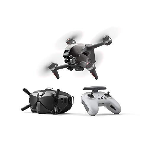 DJI FPV Combo – First-Person View Drone UAV Quadcopter with 4K Camera, S Flight Mode, Super-Wide 150° FOV, HD Low…