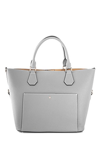 Marant Rigid - Leather Shoulder Bag For Women Gray Gray 38x16.5x25