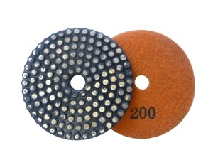 Toolocity MFPNG4200 4-Inch 200 Grit Metal Bond Vitrified Diamond Polishing Pad