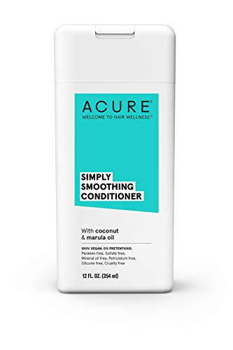 ACURE Simply Smoothing Conditioner, Coconut, 12 Fl. Oz. (Packaging May Vary) (Simply Coconut Oil)