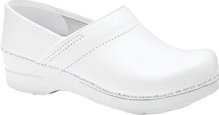 Taglia Box Professional Dansko White Zoccoli Pelle Xwa14qZcTt