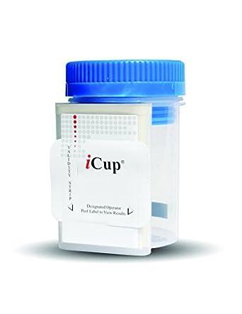 amazon com icup icup 3 panel clia waived urine drug test kit