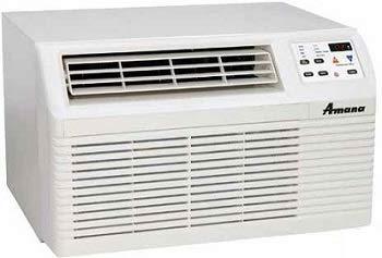 Amana PBE093G35CC 9,200 BTU Mini PTAC Air Conditioner with 3.5 KW Heat kit.