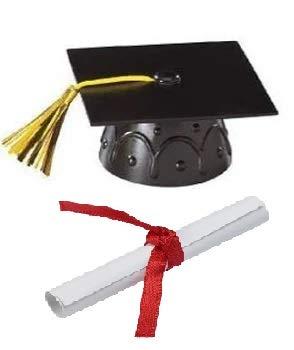 Graduation Cap and Diploma Cake Kit -