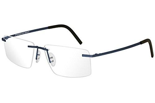 Porsche Design Eyeglasses P8321S2 P/8321/S2 D Blue Rimless Optical Frame - Eyeglasses Porsche Frames