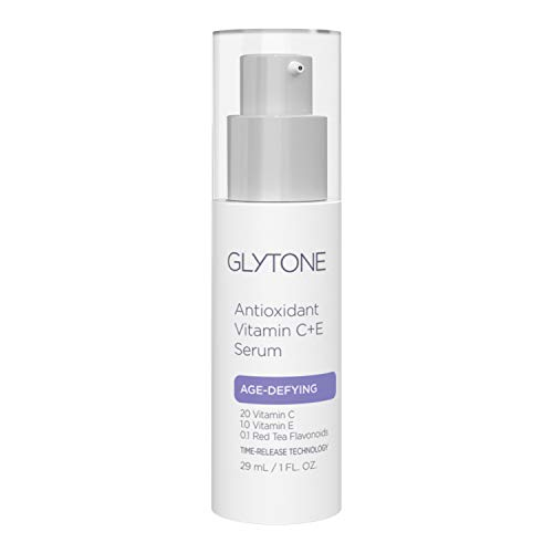 Glytone Age-Defying Vitamin C + E Serum, Red Tea Flavonoids, Antioxidant Rich, Protection from Free Radicals, Environmental Aggressors, 1 oz.