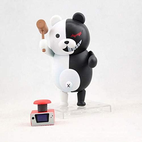 Action Figure Monokuma Handmade Doll Multicolor Monokuma Art Toy Geschikt Voor Verjaardagscadeaus Voor Kinderen (11cm)