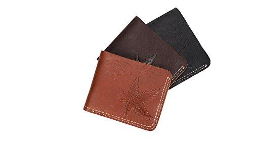 Cuero Black Hombres Corta De Cartera Billetera Bags 5ATH8wxnq