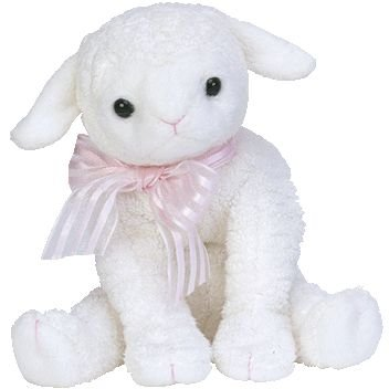 56aa5d13989 Image Unavailable. Image not available for. Color  TY Beanie Baby - LULLABY the  Lamb