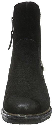 Mjus 212209-0101-6002, Zapatillas De Estar por Casa para Mujer Negro