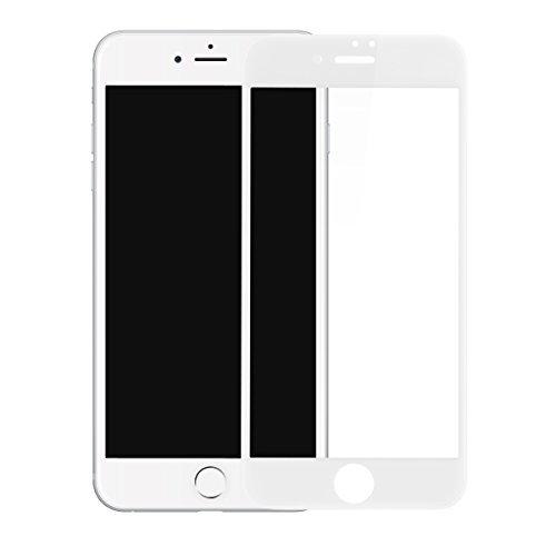 iPhone 7 Plus Screen Protector , BASEUS 0.23mm PET Soft 3D Anti-blue Light Tempered Glass Film 9H Scratch-resistant Screen Protector for iPhone 7 Plus 5.5'' (White)