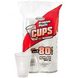 9 oz. Translucent Plastic Cups - 960 per case