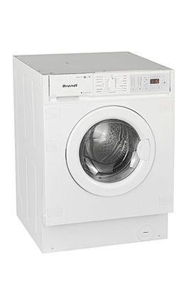 Brandt BWW162I Integrado Carga frontal B Blanco lavadora ...