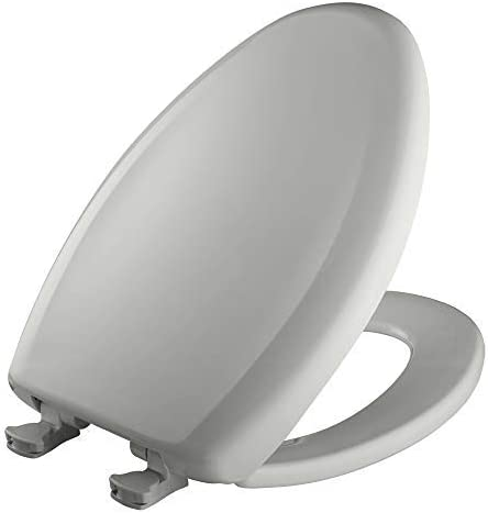 Swiss Chocolate Clauss Bemis 1200SLOWT 348 Slow Sta-Tite Elongated Closed Front Toilet Seat