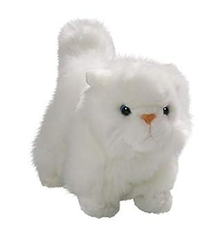 Carl Dick Gato, Gato Persa de pie Blanco de Unos 16 cm de Largo, Unos 14 cm de Alto, Peluche 3410006: Amazon.es: Juguetes y juegos