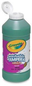 (Crayola Artista II Washable Tempera Paint 16oz Purple/Violet )