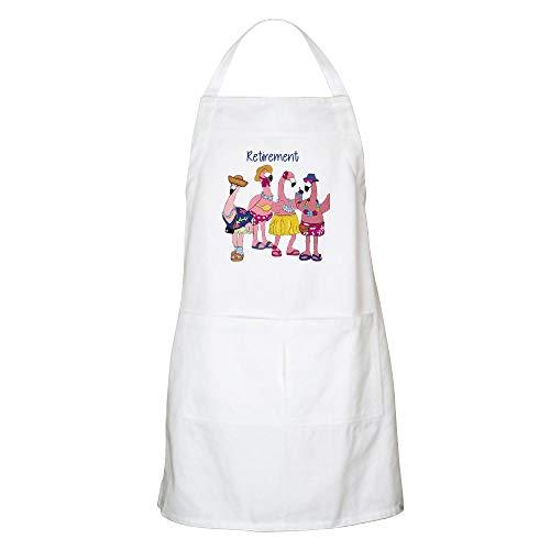 CafePress Retired Flamingos Apron Kitchen Apron with Pockets, Grilling Apron, Baking Apron ()