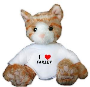 Amazon.com: De peluche de felpa juguete de gato café con I ...