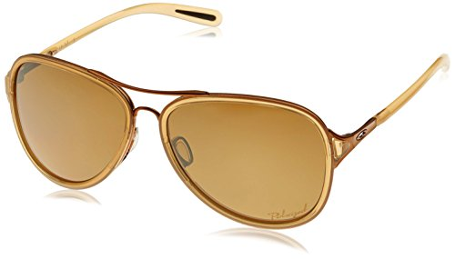 Oakley Women's Kickback Iridium Aviator Sunglasses