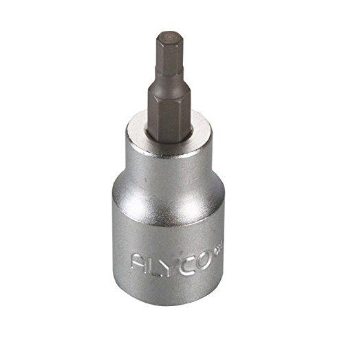 /Cl/é /à douilles de 1//2/une 16503/dIN 3121/chrome-vanadium chrom/é mat avec pointe Allen 7/x 62/mm Alyco 192296/