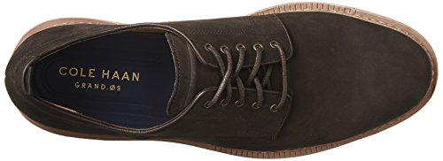 Cole Haan Tanner Plain Teen Oxford Dark Roast Nubuck / Ivory