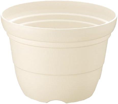 リッチェル カラーバリエ 輪鉢4号 ホワイト(W)