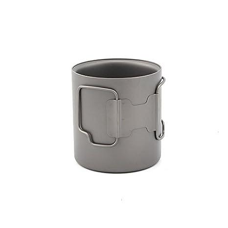 Vakuum Isoliert TOAKS cup-450-dw Titanium 450/ml doppelwandige Tasse