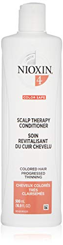 Nioxin Scalp Therapy Conditioner, System 4 (Color Treated Hair/Progressed Thinning), 16.9 oz