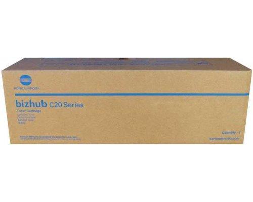 Konica Minolta A0DK233 BIZHUB TN-318Y YELLOW TONER FOR USE IN BIZHUB C20 C20P C20PX C20X YIELD 8 (Konica Minolta Bizhub C20p)