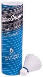MacGregor Tournament Badminton Shuttlecocks
