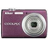 "Cheap Nikon Coolpix S220 Digital Camera with 10.0 Megapixel, 3x Optical Zoom, 4x Digital Zoom, 2.5″ LCD Display, Plum ""Refurbished by Nikon U.S.A."""