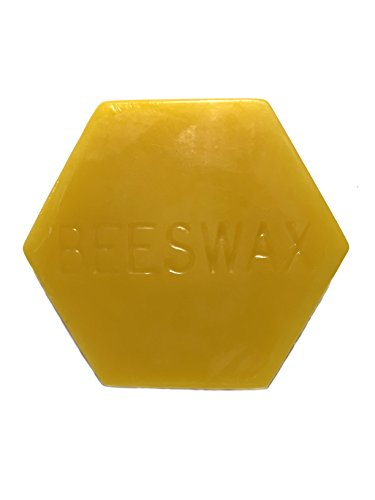 Gentle Bees Pieces of Beeswax Block, 2 oz, used for sale  Delivered anywhere in USA